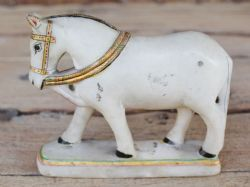 Antique Marble Horse